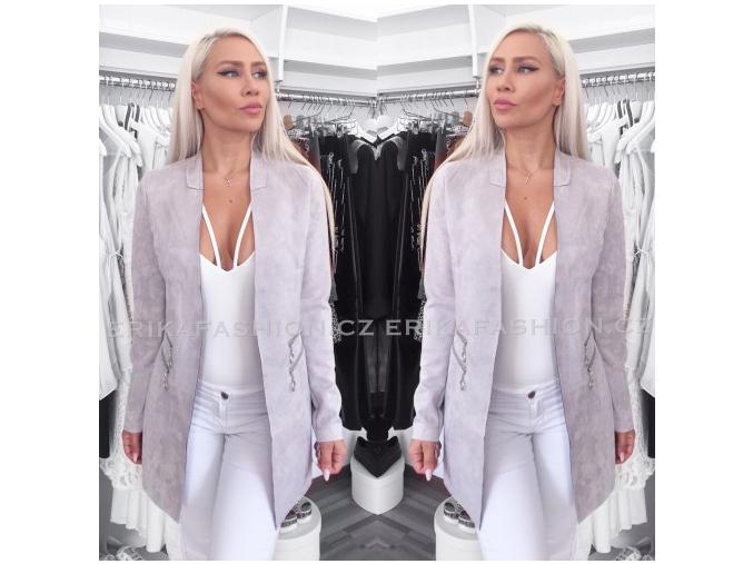 Kabátek Silk